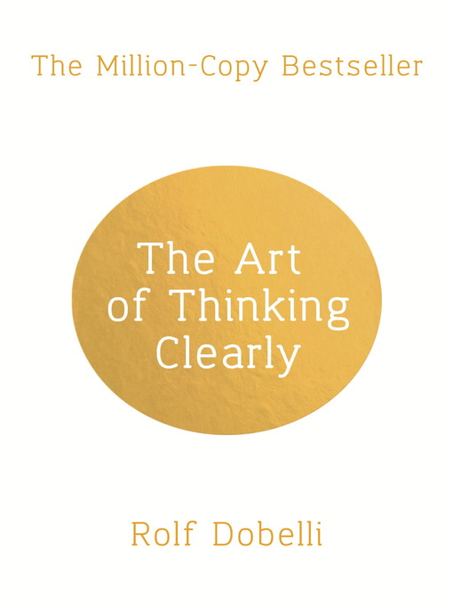 The Art Of Thinking Clearly. Enviar photo baratos winners Refund Oferta